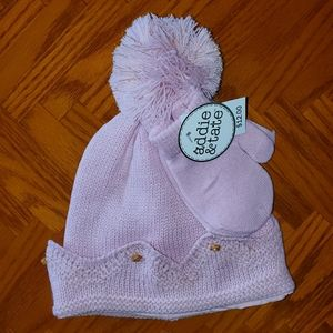Knitted crown hat